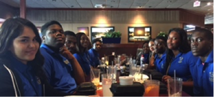 EPA honor roll, ACT and Pert successor honorees were treated to lunch for their hard work, commitment, and high honors. Lunch at Red Lobster was a succulent success.